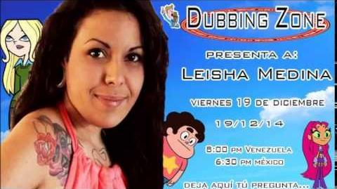 Entrevista a Leisha Medina en Dubbing Zone