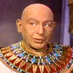Faraón Seti I en el redoblaje de <a href=