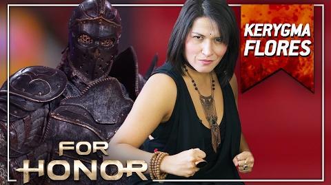 For Honor - Entrevista con Kerygma Flores, la voz de Apollyon