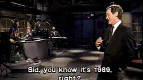 The Spanish Overdub Show on Late Night, November 27, 1989
