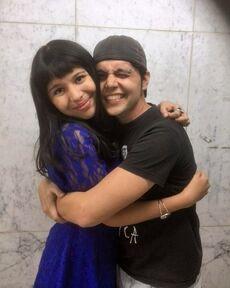 Andrea Navas y Jorge Bringas