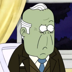 Herb, el papa de Starla también en <a href=