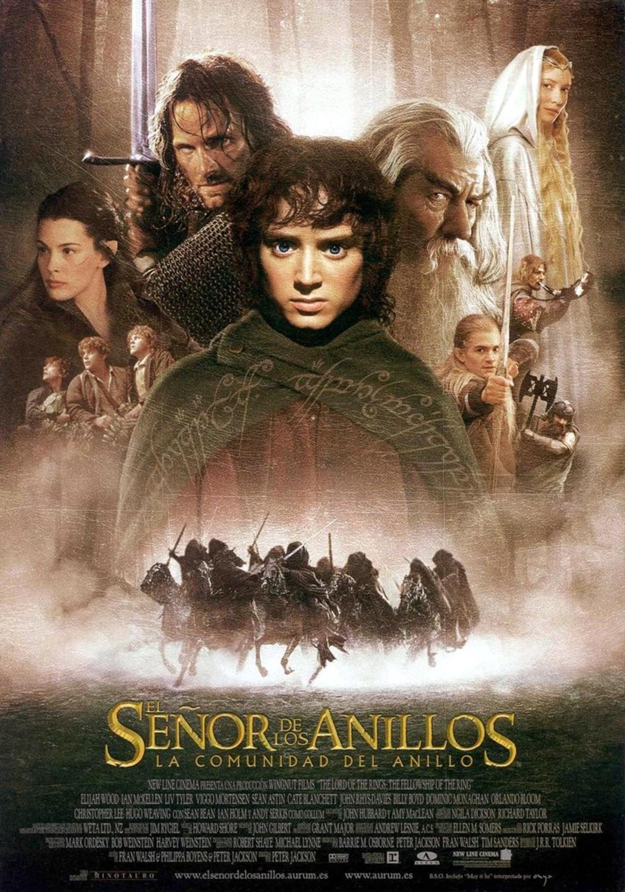 El Señor de los Anillos: la Comunidad del Anillo [2001], [1080p] [Latino] [MEGA]