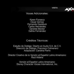 Créditos de la duodécima temporada (datos técnicos).