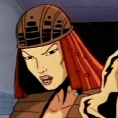 Yuriko Oyama / Lady Deathstrike también en la serie animada de <a href=