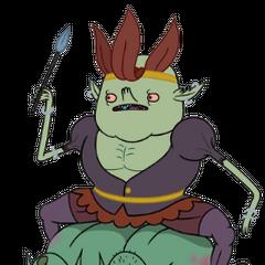 Xergiok, el rey de los duendes en <a href=