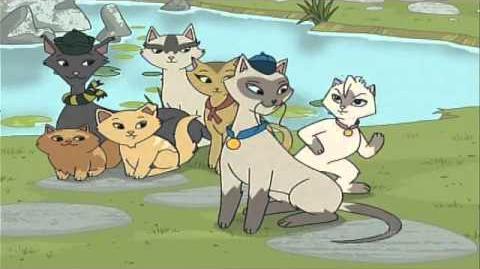 Sagwa, la gatita siamesa - Tiempo para todo El club de los exploradores