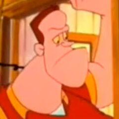 Biff Tannen en la serie animada de <a href=