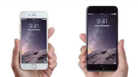 Comercial iPhone 6 en Chile, dúo