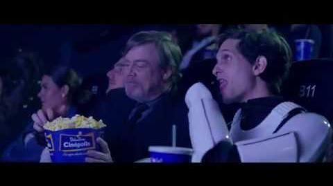 Mark Hamill Advertising Cinépolis - The Last Jedi