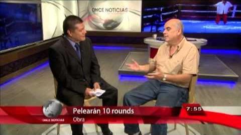 Once Noticias - Entrevista- Emilio Guerrero
