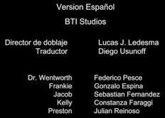 Créditos de doblaje de King Una historia de venganza (Netflix)