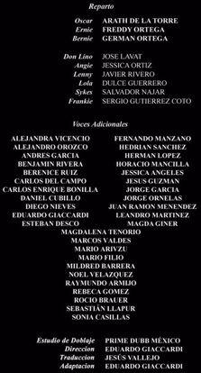 Doblaje Latino de El Espanta Tiburones