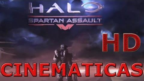 Halo Spartan Assault Todas las cinematicas en Español latino