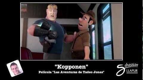 "Sebastián Llapur como el Villano ""Kopponen"""
