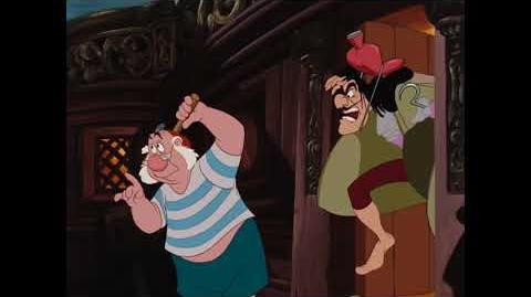 """Capitán Garfio (6 8) español spanish """"Peter Pan""""."""