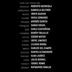 Créditos de doblaje de la 1.ª temporada - Episodio 13