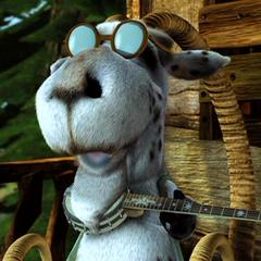 Japeth, la cabra en <a href=