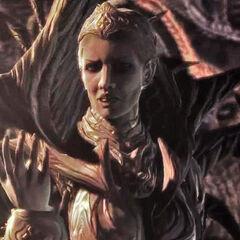 Reina de los Locust en las dos primeras entregas de la franquicia de <a href=