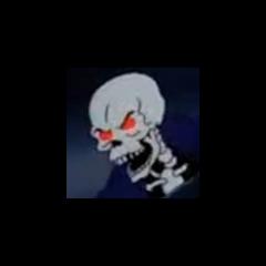 Fantasma esqueleto también en <a href=