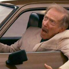 Conductor de Opel GT en <a href=