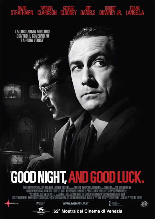 Resultado de imagen para Buenas noches, y buena suerte = good night, and good luck