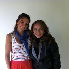 Maggie Vera y Romina Marroquín Payró (Cadance). (23/05)