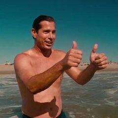 Surfista entrenador en <a href=