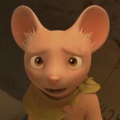 Chester en la película animada <a href=