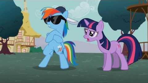 Personajes Rainbow Dash 2T