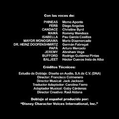 Créditos de doblaje de la tercera temporada