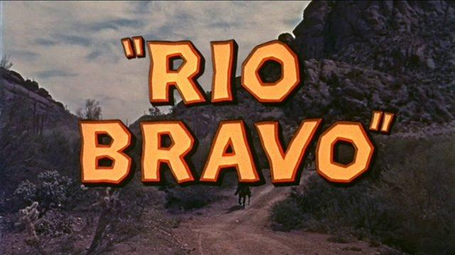 Río Bravo (1959) - Doblaje original