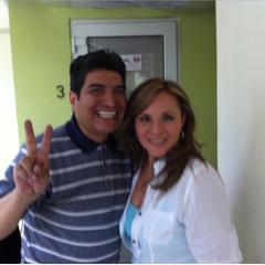 Maggie Vera y Ricardo Silva (Cheese Sandwich). (24/04)