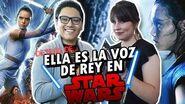 LIVIER ZUÑIGA Voz de REY en STAR WARS Entrevista Exclusiva
