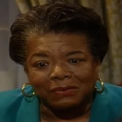Maya Angelou en <a href=