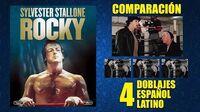Rocky -1976- Doblaje Original y 3 Redoblajes - Español Latino - Comparación y Muestra