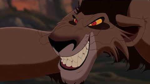 """Zira (6 9) español spanish """"El rey león II el reino de Simba""""."""