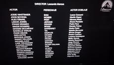 Créditos Finales de Ataque Extraterrestre en TV