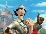 Inspector Gadget y el pterodáctilo