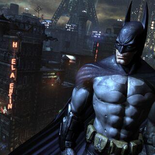 Batman de los videojuegos Arkham.