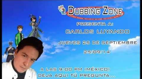 Entrevista a Carlos Luyando en Dubbing Zone