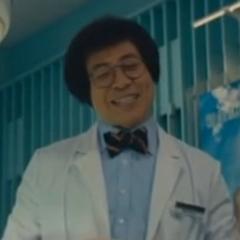 Jim Chim as Dr. Chan Chi Wo - , también en <a href=