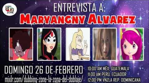 Entrevista a Maryangny Álvarez en Dubbing Zone