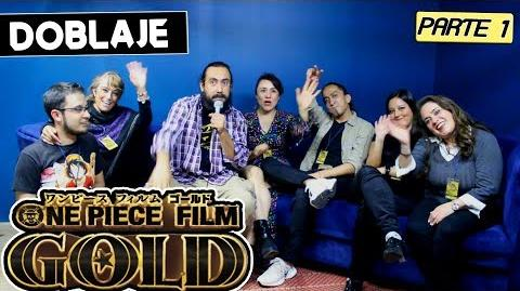 ONE PIECE FILM GOLD LATINO Parte 1 Entrevista al elenco One Piece Film Gold