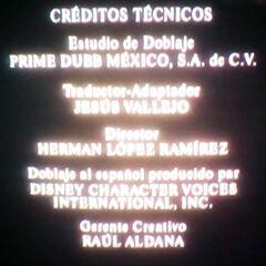 Créditos de doblaje en DVD, parte 4.