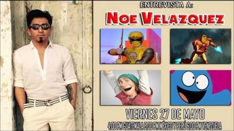 Entrevista a Noe Velazquez en Dubbing Zone