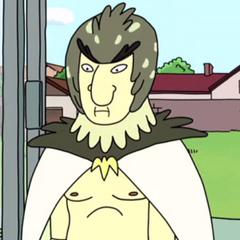 Hombre Pájaro en <a href=