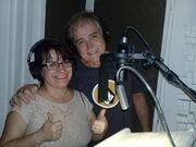Carmen Fatima y Ricardo Alanis