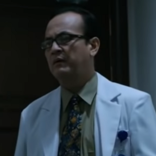 Doctor en la película de terror <a href=
