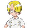 Kid Sanji close up